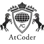 atcoderのロゴ